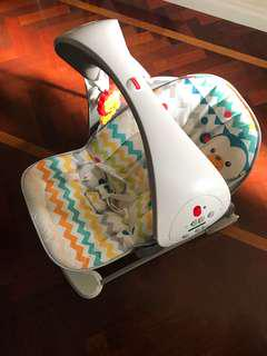 Baby swing and vibrating chair fisher price