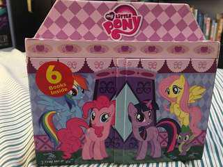 My Little Pony 6-Book Mini Library