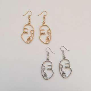 FUNKY FACE EARRINGS (type 2)