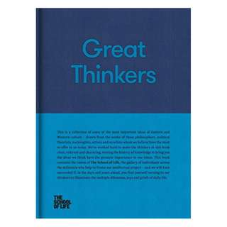 Great Thinkers: Simple Tools from 60 Great Thinkers to Improve Your Life Today Kindle Edition by The School of Life Press (Author)