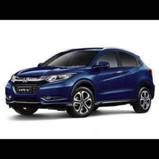 1/43 Honda HR-V VEZEL 2014 Blue colour Diecast car model Brand: IXO