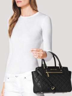 Michael Kors Selma Zip Quilt Medium Bag
