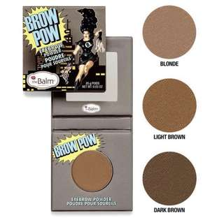 🚚 the balm brow pow in light brown