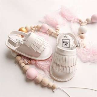 Baby Anti-Slip Tassel Prewalker Sandals