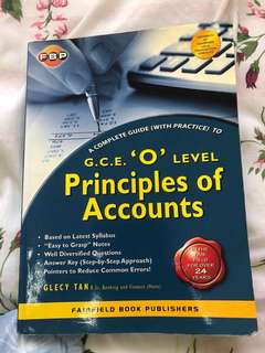 Principle of accounts GCE O LEVEL