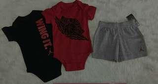 Jordan infant set (3-6m,6-9months)p