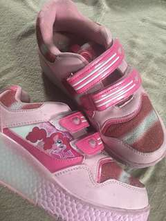 My Little Pony Shoes with Wheels