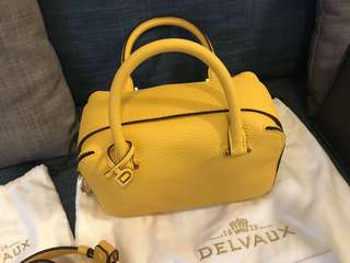 Delvaux cool box mini 蔡依林同款