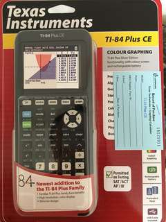 🚚 Graphing Calculator TI-84 Plus CE