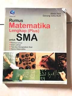 Buku rumus matematika