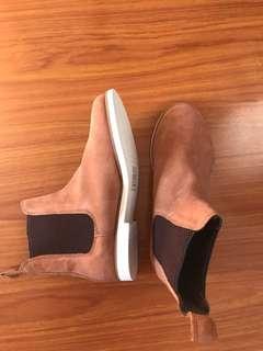 Brown ASOS Chelsea boots