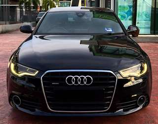 SAMBUNG BAYAR / CONTINUE LOAN  AUDI A6 3.0 QUATTRO S-LINE YEAR 2011/2012 MONTHLY RM 2760 BALANCE 4 YEARS 3 MONTHS ROADTAX NOV 2018 LEATHER ELECTRONIC SEAT  400+ HP (TURBO+ PULI CHANGED) TIPTOP CONDITION   DP KLIK wasap.my/60133524312/a6