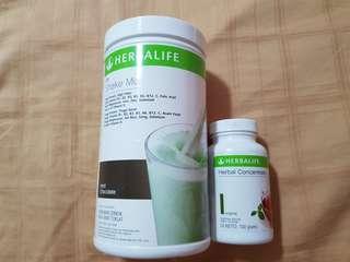 🚚 Herbalife (shake + herbal concentrate tea)