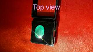 5.8Ct Certified Natural Green Emerald Stone