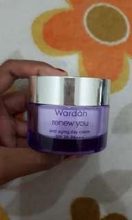 Wardah anti aging cream