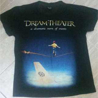 Dream Theater band t-shirt ( A dramatic turn of event)