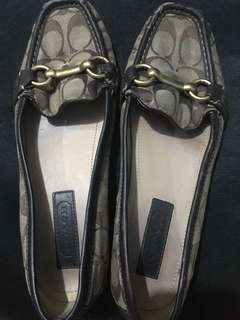 Authentic Coach Doll Shoes