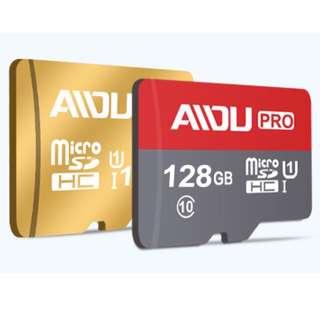 🈹(💯SALE)🈹AIDU 128GB Micro SD Memory Card 98M/S High Speed