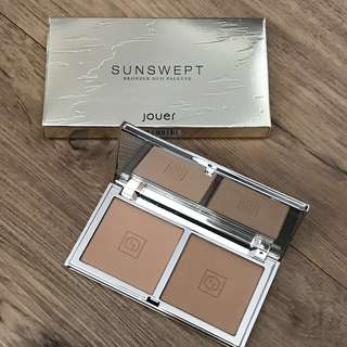 BNIB Authentic Jouer Sunswept Bronzer Duo Palette