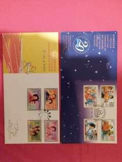 Hong Kong stamps ~ 香港電影郵票 ~兩套, 散買600蚊一套