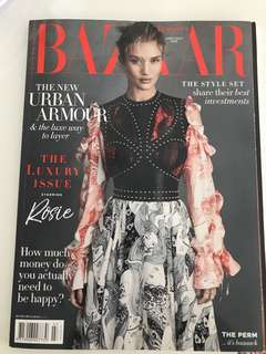 Brand new Bazaar Australia magazine June July 2018 jun Jul