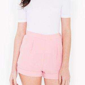 Size M American Apparel Crepe Shorts
