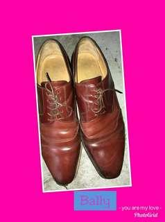 Jual sepatu kulit original merk Bally