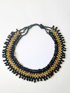 Handcrafted beaded necklace from Nepal