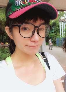 🚚 JINS超大膠框眼鏡