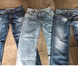 Levi Mens 512 Bundles Jeans