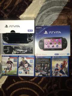 PS Vita and PS Vita Games