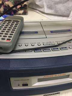 🚚 卡夾CD Panasonic 收音機錄音機