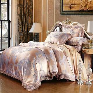 ✨ Satin Fitted Sheet Set