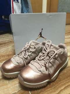 🚚 Air Jordan 11 retro low rose gold 玫瑰金