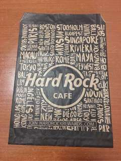 Hard Rock Cafe Paper Bag