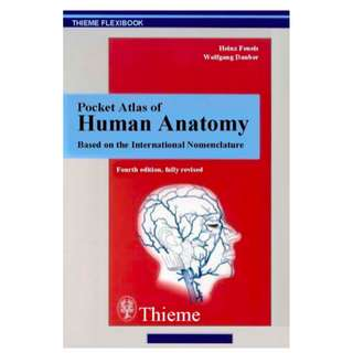 Pocket Atlas Of Human Anatomy: Based On The International Nomenclature (510 Page Mega eBook)