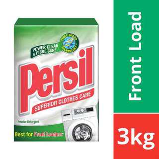 Persil Fibre Intelligent Low Suds Powder Detergent 3KG