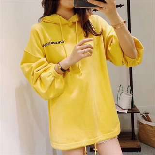 2018年Balenciaga針織上衣 帽T 長袖上衣 大學衣 黃色 百搭款