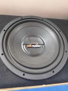 Bm audio 12inch