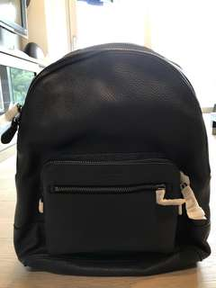 100% Genuine Coach Leather Backpack