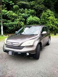 Honda crv 2.0 2007 sambung bayar