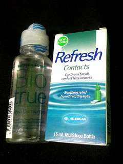 Eye Care Contact Lens (BioTrue+Refresh)