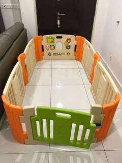 Haenim (korea) baby play yard (6 panel)