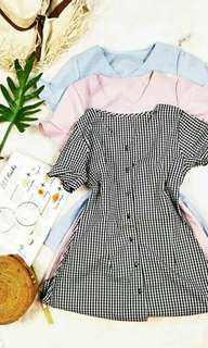 🌸Lala Buttoned Dress🌸