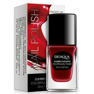 🚚COD #m94 bioaqua 12ml colourful nail polish