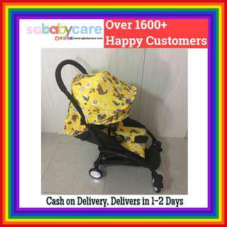 🚚 FREE DELIVERY Full Recline Transformer Stroller