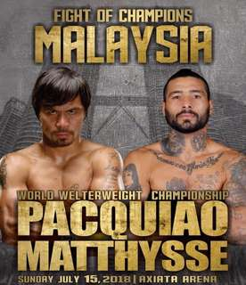 Pacquiao vs Matthysse