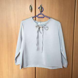 BN pastel lilac 3/4 sleeve blouse top