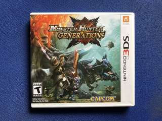 Nintendo 3DS Fire Emblem Awakening and Monster Hunter Generations