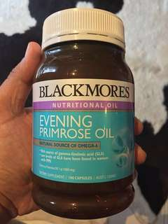 Blackmores - Nutritional Oil - Evening Primrose Oil - Natural Source of Omega 6